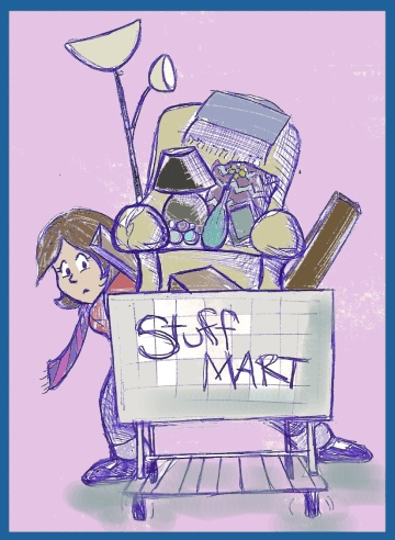 """Stuff Mart"" by Natalie Grace, August 2012"