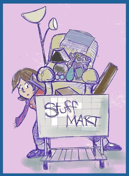 """Stuff Mart"" by Natalie Grace, August 2012"