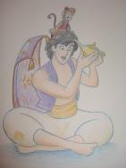 """Daily Disney Commish - Aladdin"" by Natalie Grace, November 2012"