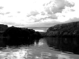 """""""Snake River"""" Black and White"""