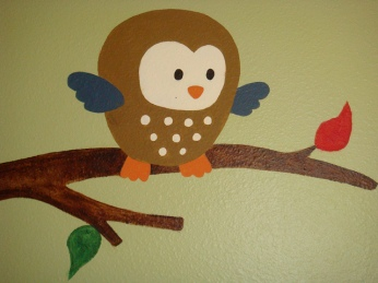 Mr. Owl Closeup