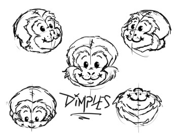 """Dimples"" Heads"