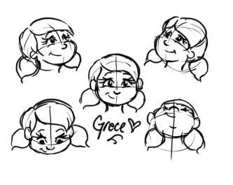 """""""Grace"""" Heads"""